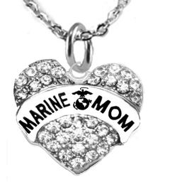 """<BR>       """"MARINE MOM""""  EXCLUSIVELY OURS!!   <Br>               AN ALLAN ROBIN DESIGN!!   <BR>        NICKEL, LEAD & CADMIUM FREE!!   <BR>W1810N1- FROM $5.98 TO $12.85 �2015"""