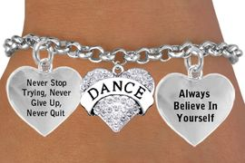 <BR>        BEAUTIFUL CRYSTAL DANCE HEART CHARM BRACELET WHOLESALE <bR>                 W21437B - THE NEW WAY TO EXPRESS LOVE, MOTIVATION,<BR>                 POSITIVE, AFFIRMATIVE EXPRESSIONS, CHARM BRACELET<BR>                                                             $12.38 EACH  �2014