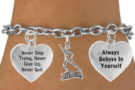 "<BR>                        "" DANCE "" TOGGLE CHARM BRACELET WHOLESALE <bR>                 W21489B - THE NEW WAY TO EXPRESS LOVE, MOTIVATION,<BR>          POSITIVE, AFFIRMATIVE EXPRESSIONS, CHARM BRACELET FROM<BR>                                                   $11.38 EACH �2014"