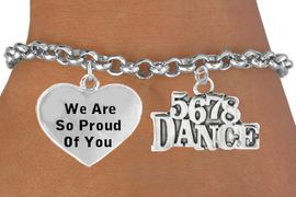 "<BR>                           "" 5 6 7 8 DANCE "" CHARM BRACELET WHOLESALE <bR>                 W21467B - THE NEW WAY TO EXPRESS LOVE, MOTIVATION,<BR>                      POSITIVE, AFFIRMATIVE EXPRESSIONS, CHARM BRACELET<BR>                                                          $10.38 EACH &#169;2014"