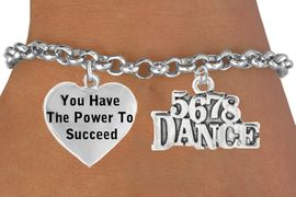 "<BR>                           "" 5 6 7 8 DANCE "" CHARM BRACELET WHOLESALE <bR>                 W21469B - THE NEW WAY TO EXPRESS LOVE, MOTIVATION,<BR>                    POSITIVE, AFFIRMATIVE EXPRESSIONS, CHARM BRACELET<BR>                                                            $10.38 EACH �2014"