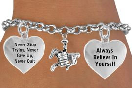 <BR>                                  BARREL RACER WITH FULL  DIMENSIONAL<BR>                            FRONT &  BACK  CHARM BRACELET WHOLESALE <bR>                 W21461B - THE NEW WAY TO EXPRESS LOVE, MOTIVATION,<BR>          POSITIVE, AFFIRMATIVE EXPRESSIONS, THAT WILL GO PERFECTLY<br>        WITH ANOTHER POSITIVE AFFIRMATION CHARM IF YOU WANT  ONE,<BR>   MORE CHOICES LOOK BELOW,  CHARM BRACELET FROM $9.73 TO $14.58<BR>                                    CostumeJewelryWholesale.com �2014