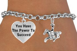 <BR>                                  BARREL RACER WITH FULL  DIMENSIONAL<BR>                            FRONT &  BACK  CHARM BRACELET WHOLESALE <bR>                 W21462B - THE NEW WAY TO EXPRESS LOVE, MOTIVATION,<BR>          POSITIVE, AFFIRMATIVE EXPRESSIONS, THAT WILL GO PERFECTLY<br>        WITH ANOTHER POSITIVE AFFIRMATION CHARM IF YOU WANT  ONE,<BR>   MORE CHOICES LOOK BELOW,  CHARM BRACELET FROM $9.73 TO $14.58<BR>                                    CostumeJewelryWholesale.com �2014