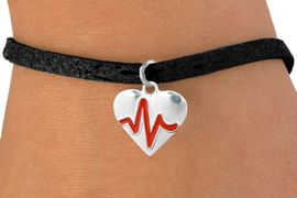 "<BR>                                  NICKEL FREE & ADJUSTABLE NECKLACE ! <BR>                                                         ""THE PERFECT GIFT"",<BR>                               ""Your Love Makes My Heart Beat"","" I Love You"", Or<BR>                      In Recognition Of ""Women's Or Children's Heart Disease""<BR>                           "" HEARTBEAT "" ADJUSTABLE BLACK SUEDE  BRACELET<BR>                               AN ORIGINAL ALLAN ROBIN CUSTOM DESIGN<br>                                          WHOLESALE CHARM BRACELET <BR>                                        LEAD, CADMIUM & NICKEL FREE!!  <BR>                           W21562B-ANTIQUE WOVEN CHAIN SILVER TONE  <BR>                             BRACELET FROM $4.90 TO $5.85 EACH! &#169;2015"