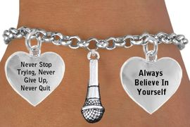 <BR>                      SINGERS & SPEAKERS CHARM ADJUSTABLE BRACELET WHOLESALE <bR>                              W21438B - THE NEW WAY TO EXPRESS LOVE, MOTIVATION,<BR>                              POSITIVE, AFFIRMATIVE EXPRESSIONS, CHARM BRACELET<BR>                                                                   $10.68 EACH �2014