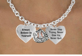 "<BR>BEAUTIFUL ""CRYSTAL BASEBALL IN GLOVE"" UNISEX CHARM NECKLACE<bR>                 W21485N - THE NEW WAY TO EXPRESS LOVE, MOTIVATION,<BR>      POSITIVE, AFFIRMATIVE EXPRESSIONS, LARGE LINK CHARM NECKLACE<BR>                                                          $12.38  EACH �2014"