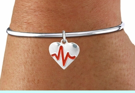 """<BR>                                       NICKEL FREE & ADJUSTABLE NECKLACE ! <BR>                                                         """"THE PERFECT GIFT"""",<BR>                               """"Your Love Makes My Heart Beat"""","""" I Love You"""", Or<BR>                      In Recognition Of """"Women's Or Children's Heart Disease""""<BR>                               """" HEARTBEAT """" ADJUSTABLE REMOVABLE BALL  BRACELET<BR>                                             AN ORIGINAL ALLAN ROBIN CUSTOM DESIGN<br>                                                        WHOLESALE CHARM BRACELET <BR>                                                      LEAD, CADMIUM & NICKEL FREE!!  <BR>                        W21567B-ADJUSTABLE REMOVABLE BALL  SILVER TONE  BRACELET<BR>     """"NO TOOLS NEEDED TO ADD ADDITIONAL CHARMS""""FROM $4.90 TO $5.85 EACH! &#169;2015"""