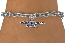 <BR>              WRESTLING MOM TOGGLE CHAIN BRACELET<BR>                  AN ORIGINAL ALLAN ROBIN CUSTOM DESIGN<br>                                WHOLESALE CHARM BRACELET <BR>                              LEAD, CADMIUM & NICKEL FREE!!  <BR>    W21536B-HIGH POLISHED, BRIGHT ANTIQUE SILVER TONE  <BR>            FITS ALL SIZES FROM $4.50 TO $8.35 EACH! &#169;2014