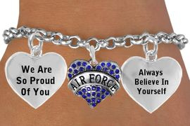 """<BR>                                 """"I AM AN AMERICAN AIRMAN, I AM A WARRIOR """" <BR>                            ADJUSTABLE HEART CHARM BRACELET WHOLESALE <bR>                    W21511B - THE NEW WAY TO EXPRESS LOVE, MOTIVATION,<BR>             POSITIVE, AFFIRMATIVE EXPRESSIONS, THAT WILL GO PERFECTLY<br>           WITH ANOTHER POSITIVE AFFIRMATION CHARM IF YOU WANT  ONE,<BR>      MORE CHOICES LOOK BELOW,  CHARM BRACELET FROM $9.73 TO $14.58<BR>                                       CostumeJewelryWholesale.com �2014"""