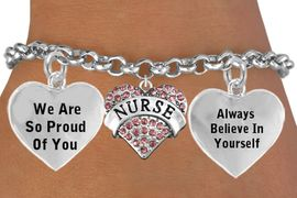 """<BR>                                        GENUINE """" CRYSTAL NURSE """" CHARM<BR>                                 ADJUSTABLE CHARM BRACELET WHOLESALE <bR>                    W21503B - THE NEW WAY TO EXPRESS LOVE, MOTIVATION,<BR>             POSITIVE, AFFIRMATIVE EXPRESSIONS, THAT WILL GO PERFECTLY<br>           WITH ANOTHER POSITIVE AFFIRMATION CHARM IF YOU WANT  ONE,<BR>      MORE CHOICES LOOK BELOW,  CHARM BRACELET FROM $9.73 TO $14.58<BR>                                       CostumeJewelryWholesale.com �2014"""