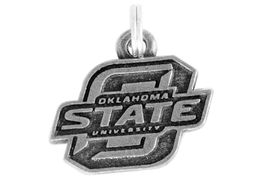 <Br> OFFICIALLY LICENSED COLLEGE CHARM!!<Br>                     LEAD & NICKEL FREE!!<Br>W949SC - OKLAHOMA STATE UNIVERSITY <Br>              CHARM FROM $2.69 TO $3.85