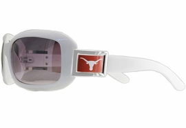 """<BR>   OFFICIALLY LICENSED COLLEGE!!<BR>W18109SG - UNIVERSITY OF TEXAS<Br>""""LONGHORNS"""" LOGO SUNGLASSES<br>              FROM $5.63 TO $12.50"""