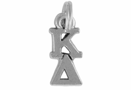 <Br>OFFICIALLY LICENSED SORORITY CHARM!!<Br>                     LEAD & NICKEL FREE!!<Br>                  W880SC - KAPPA DELTA <Br>               CHARM FROM $4.10 TO $6.75