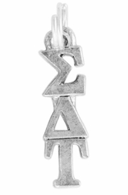 <Br>OFFICIALLY LICENSED SORORITY CHARM!!<Br>                     LEAD & NICKEL FREE!!<Br>             W889SC - SIGMA DELTA TAU <Br>               CHARM FROM $4.10 TO $6.75