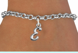 <br>            PERSONALIZED BRACELET<bR>                  EXCLUSIVELY OURS!!<Br>            AN ALLAN ROBIN DESIGN!!<BR>   CLICK HERE TO SEE 500+ EXCITING<BR>      CHANGES THAT YOU CAN MAKE!<BR>                 LEAD & NICKEL FREE!!<BR>W839SB - ALPHABET INITIAL CHARM<Br>       BRACELET FROM $4.15 TO $8.00