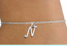 <BR>        PERSONALIZED JEWELRY FOR KIDS<bR>                  EXCLUSIVELY OURS!!<Br>            AN ALLAN ROBIN DESIGN!!<BR>   CLICK HERE TO SEE 500+ EXCITING<BR>      CHANGES THAT YOU CAN MAKE!<BR>                 LEAD & NICKEL FREE!!<BR>W839SB - ALPHABET INITIAL CHARM<Br>CHILDRENS BRACELET FROM $4.15 TO $8.00