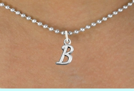 <br>         PERSONALIZED NECKLACE<bR>               EXCLUSIVELY OURS!!<Br>         AN ALLAN ROBIN DESIGN!!<BR>CLICK HERE TO SEE 500+ EXCITING<BR>   CHANGES THAT YOU CAN MAKE!<BR>              LEAD & NICKEL FREE!!<BR>  W839SN - ALPHABET INITIAL CHARM<Br>        NECKLACE FROM $4.50 TO $8.35