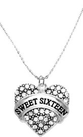 """<BR>     """"SWEET SIXTEEN""""  EXCLUSIVELY OURS!!   <Br>               AN ALLAN ROBIN DESIGN!!   <BR>                         HYPOALLERGENIC<BR>       NICKEL, LEAD & CADMIUM FREE!!   <BR>W1695N1- FROM $5.40 TO $10.45 �2015"""
