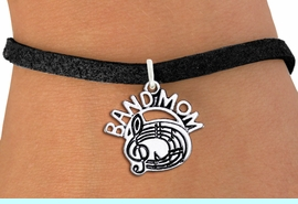 """<br> BAND MOM BAND CHARM BRACELET WHOLESALE <bR>                     EXCLUSIVELY OURS!!<BR>                AN ALLAN ROBIN DESIGN!!<BR>       CLICK HERE TO SEE 1000+ EXCITING<BR>             CHANGES THAT YOU CAN MAKE!<BR>          CADMIUM, LEAD & NICKEL FREE!!<BR>        W1485SB - DETAILED SILVER TONE <Br> """"BAND MOM"""" BAND OR CHOIR CHARM & BRACELET <BR>              FROM $4.50 TO $8.35 �2013"""
