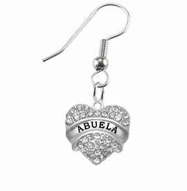 "<BR>                       THE ""PERFECT GIFT""<BR>       ""ABUELA""  EXCLUSIVELY OURS!!   <Br>               AN ALLAN ROBIN DESIGN!!   <br>                         HYPOALLERGENIC<BR>        NICKEL, LEAD & CADMIUM FREE!!   <BR>W1759E1- FROM $5.98 TO $12.85 �2015"