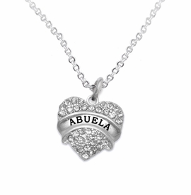 "<BR>                       THE ""PERFECT GIFT""<BR>       ""ABUELA""  EXCLUSIVELY OURS!!   <Br>               AN ALLAN ROBIN DESIGN!!   <br>                         HYPOALLERGENIC<BR>        NICKEL, LEAD & CADMIUM FREE!!   <BR>W1759N1- FROM $5.98 TO $12.85 ©2015"