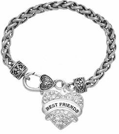 """<BR>                       THE """"PERFECT GIFT""""<BR>       """"BEST FRIENDS""""  EXCLUSIVELY OURS!!   <Br>               AN ALLAN ROBIN DESIGN!!   <br>                         HYPOALLERGENIC<BR>        NICKEL, LEAD & CADMIUM FREE!!   <BR>W1753B1- FROM $5.98 TO $12.85 �2015"""