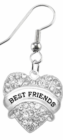 "<BR>                       THE ""PERFECT GIFT""<BR>       ""BEST FRIENDS""  EXCLUSIVELY OURS!!   <Br>               AN ALLAN ROBIN DESIGN!!   <br>                         HYPOALLERGENIC<BR>        NICKEL, LEAD & CADMIUM FREE!!   <BR>W1753E1- FROM $5.98 TO $12.85 �2015"