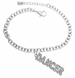 "<BR>""DANCER""  BRACELET EXCLUSIVELY OURS!!   <Br>               AN ALLAN ROBIN DESIGN!!   <br>                         HYPOALLERGENIC<BR>        NICKEL, LEAD & CADMIUM FREE!   <BR>            W1785B2 - $9.38 EACH  �2015"
