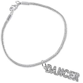 """<BR>                       THE """"PERFECT GIFT""""<BR>""""DANCER""""  BRACELET EXCLUSIVELY OURS!!   <Br>               AN ALLAN ROBIN DESIGN!!   <br>                         HYPOALLERGENIC<BR>        NICKEL, LEAD & CADMIUM FREE!   <BR>           W1785B7- $10.38 EACH  �2015"""