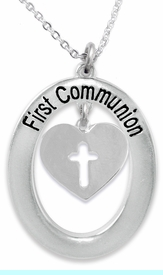 """<BR>                       THE """"PERFECT GIFT""""<BR>       """"FIRST COMMUNION""""  EXCLUSIVELY OURS!!   <Br>               AN ALLAN ROBIN DESIGN!!   <br>                         HYPOALLERGENIC<BR>        NICKEL, LEAD & CADMIUM FREE!!   <BR>W1004F1- FROM $5.98 TO $12.85 �2015"""