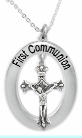 """<BR>                       THE """"PERFECT GIFT""""<BR>       """"FIRST COMMUNION""""  EXCLUSIVELY OURS!!   <Br>               AN ALLAN ROBIN DESIGN!!   <br>                         HYPOALLERGENIC<BR>        NICKEL, LEAD & CADMIUM FREE!!   <BR>W1101F1- FROM $5.98 TO $12.85 �2015"""