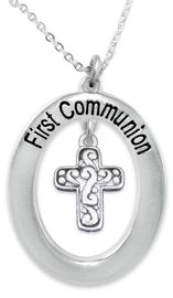 """<BR>                       THE """"PERFECT GIFT""""<BR>       """"FIRST COMMUNION""""  EXCLUSIVELY OURS!!   <Br>               AN ALLAN ROBIN DESIGN!!   <br>                         HYPOALLERGENIC<BR>        NICKEL, LEAD & CADMIUM FREE!!   <BR>W1340F1- FROM $5.98 TO $12.85 �2015"""