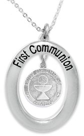 """<BR>                       THE """"PERFECT GIFT""""<BR>""""FIRST COMMUNION""""  EXCLUSIVELY OURS!!   <Br>               AN ALLAN ROBIN DESIGN!!   <br>                         HYPOALLERGENIC<BR>        NICKEL, LEAD & CADMIUM FREE!!   <BR>W260F1- FROM $5.98 TO $12.85 �2015"""