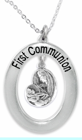 """<BR>                       THE """"PERFECT GIFT""""<BR>       """"FIRST COMMUNION""""  EXCLUSIVELY OURS!!   <Br>               AN ALLAN ROBIN DESIGN!!   <br>                         HYPOALLERGENIC<BR>        NICKEL, LEAD & CADMIUM FREE!!   <BR>W442F1- FROM $5.98 TO $12.85 �2015"""