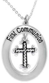 """<BR>                       THE """"PERFECT GIFT""""<BR>""""FIRST COMMUNION""""  EXCLUSIVELY OURS!!   <Br>               AN ALLAN ROBIN DESIGN!!   <br>                         HYPOALLERGENIC<BR>        NICKEL, LEAD & CADMIUM FREE!!   <BR> W479F1- FROM $5.98 TO $12.85 �2015"""
