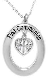 """<BR>                       THE """"PERFECT GIFT""""<BR>       """"FIRST COMMUNION""""  EXCLUSIVELY OURS!!   <Br>               AN ALLAN ROBIN DESIGN!!   <br>                         HYPOALLERGENIC<BR>        NICKEL, LEAD & CADMIUM FREE!!   <BR>W509F1- FROM $5.98 TO $12.85 �2015"""