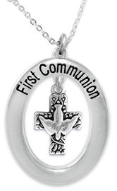 """<BR>                       THE """"PERFECT GIFT""""<BR>       """"FIRST COMMUNION""""  EXCLUSIVELY OURS!!   <Br>               AN ALLAN ROBIN DESIGN!!   <br>                         HYPOALLERGENIC<BR>        NICKEL, LEAD & CADMIUM FREE!!   <BR>W511F1- FROM $5.98 TO $12.85 �2015"""
