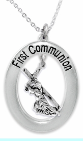 """<BR>                       THE """"PERFECT GIFT""""<BR>       """"FIRST COMMUNION""""  EXCLUSIVELY OURS!!   <Br>               AN ALLAN ROBIN DESIGN!!   <br>                         HYPOALLERGENIC<BR>        NICKEL, LEAD & CADMIUM FREE!!   <BR>W514F1- FROM $5.98 TO $12.85 �2015"""