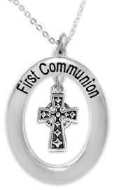 """<BR>                       THE """"PERFECT GIFT""""<BR>       """"FIRST COMMUNION""""  EXCLUSIVELY OURS!!   <Br>               AN ALLAN ROBIN DESIGN!!   <br>                         HYPOALLERGENIC<BR>        NICKEL, LEAD & CADMIUM FREE!!   <BR>W517F1- FROM $5.98 TO $12.85 �2015"""