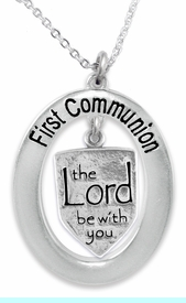 """<BR>                       THE """"PERFECT GIFT""""<BR>       """"FIRST COMMUNION""""  EXCLUSIVELY OURS!!   <Br>               AN ALLAN ROBIN DESIGN!!   <br>                         HYPOALLERGENIC<BR>        NICKEL, LEAD & CADMIUM FREE!!   <BR>W595F1- FROM $5.98 TO $12.85 �2015"""