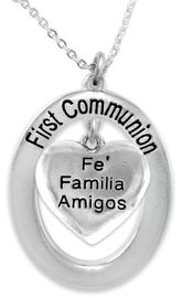 """<BR>                       THE """"PERFECT GIFT""""<BR>       """"FIRST COMMUNION""""  EXCLUSIVELY OURS!!   <Br>               AN ALLAN ROBIN DESIGN!!   <br>                         HYPOALLERGENIC<BR>        NICKEL, LEAD & CADMIUM FREE!!   <BR>W601F1- FROM $5.98 TO $12.85 �2015"""