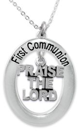 """<BR>                       THE """"PERFECT GIFT""""<BR>       """"FIRST COMMUNION""""  EXCLUSIVELY OURS!!   <Br>               AN ALLAN ROBIN DESIGN!!   <br>                         HYPOALLERGENIC<BR>        NICKEL, LEAD & CADMIUM FREE!!   <BR>W636F1- FROM $5.98 TO $12.85 �2015"""