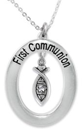 """<BR>                       THE """"PERFECT GIFT""""<BR>       """"FIRST COMMUNION""""  EXCLUSIVELY OURS!!   <Br>               AN ALLAN ROBIN DESIGN!!   <br>                         HYPOALLERGENIC<BR>        NICKEL, LEAD & CADMIUM FREE!!   <BR>W747F1- FROM $5.98 TO $12.85 �2015"""