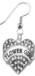 """<BR>                       THE """"PERFECT GIFT""""<BR>       """"FLOWER GIRL""""  EXCLUSIVELY OURS!!   <Br>               AN ALLAN ROBIN DESIGN!!   <br>       HYPOALLERGENIC FISHHOOK EARRINGS<BR>        NICKEL, LEAD & CADMIUM FREE!!   <BR>W1683E1- FROM $5.98 TO $12.85 �2015"""
