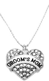 """<BR>                       THE """"PERFECT GIFT""""<BR>       """"GROOM'S MOM""""  EXCLUSIVELY OURS!!   <Br>               AN ALLAN ROBIN DESIGN!!   <br>                         HYPOALLERGENIC<BR>        NICKEL, LEAD & CADMIUM FREE!!   <BR>W1693N1- FROM $5.98 TO $12.85 �2015"""