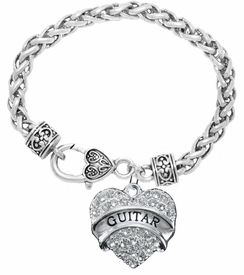 "<BR>""GUITAR""  BRACELET EXCLUSIVELY OURS!!   <Br>               AN ALLAN ROBIN DESIGN!!   <br>                         HYPOALLERGENIC<BR>        NICKEL, LEAD & CADMIUM FREE!   <BR>           W1784B1- $9.68 EACH  �2015"
