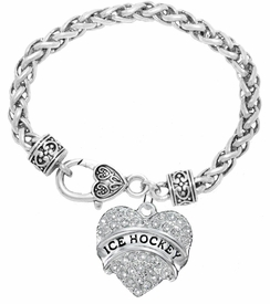 "<BR>                       THE ""PERFECT GIFT""<BR>""ICE HOCKEY""  BRACELET EXCLUSIVELY OURS!!   <Br>               AN ALLAN ROBIN DESIGN!!   <br>                         HYPOALLERGENIC<BR>        NICKEL, LEAD & CADMIUM FREE!   <BR>                W1780B1 -  $9.38 �2015"