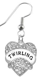 """<BR>                       THE """"PERFECT GIFT""""<BR>       """"TWIRLING""""  EXCLUSIVELY OURS!!   <Br>               AN ALLAN ROBIN DESIGN!!   <br>                         HYPOALLERGENIC<BR>        NICKEL, LEAD & CADMIUM FREE!!   <BR>W1756E1- FROM $5.98 TO $12.85 �2015"""