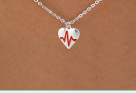 """<BR>                  CHILDREN'S 12"""" ADJUSTABLE NECKLACE """"THE PERFECT GIFT"""",<BR>                               """"Your Love Makes My Heart Beat"""","""" I Love You"""", Or<BR>                                  In Recognition Of """"Children's Heart Disease""""<BR>                           """" HEARTBEAT """" SMALL CHAIN ADJUSTABLE NECKLACE<BR>                                     AN ORIGINAL ALLAN ROBIN CUSTOM DESIGN<br>                                                   WHOLESALE CHARM NECKLACE <BR>                                                 LEAD, CADMIUM & NICKEL FREE!!  <BR>             W21600N-SMALL CHAIN, BRIGHT SILVER TONE ADJUSTABLE NECKLACE <BR>                         FITS 12"""" TO 15""""  FROM $5.60 TO $9.85 EACH! &#169;2015"""