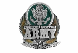 "<BR>                U.S. ARMY LAPEL PIN<Br>                LEAD & NICKEL FREE!!<Br>W15083P - ""UNITED STATES ARMY""<br>               FROM $2.36 TO $5.25"